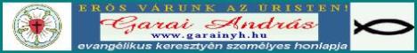 Garai Andr�s evangélikus keresztyén személyes honlapja